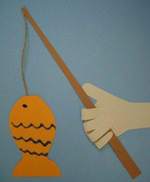 Открытка папе рыбак, аниме