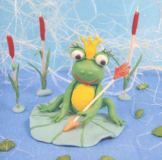 всех лягушка царевна из пластилина картинки меню