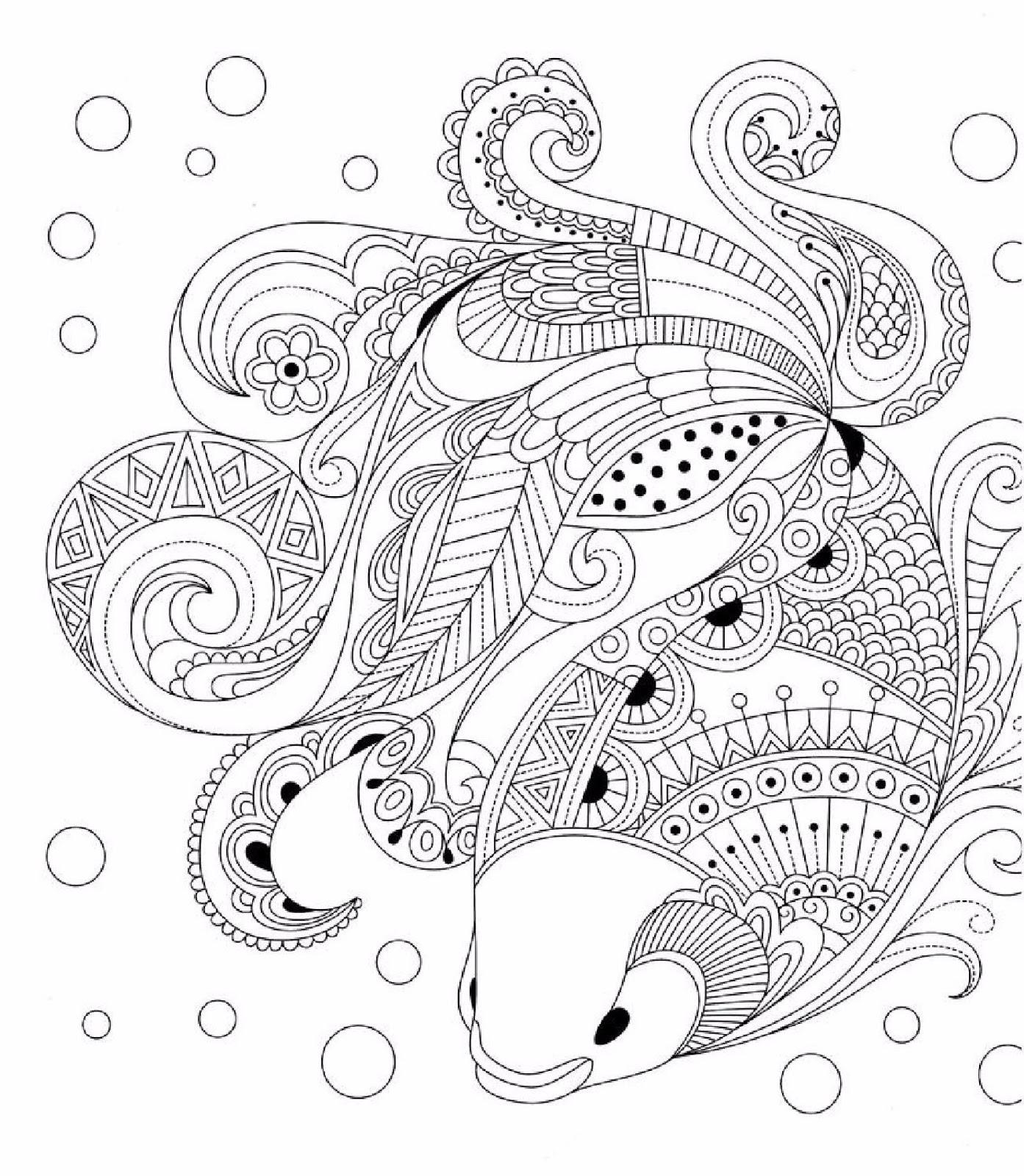 Картинки антистресс рыбы