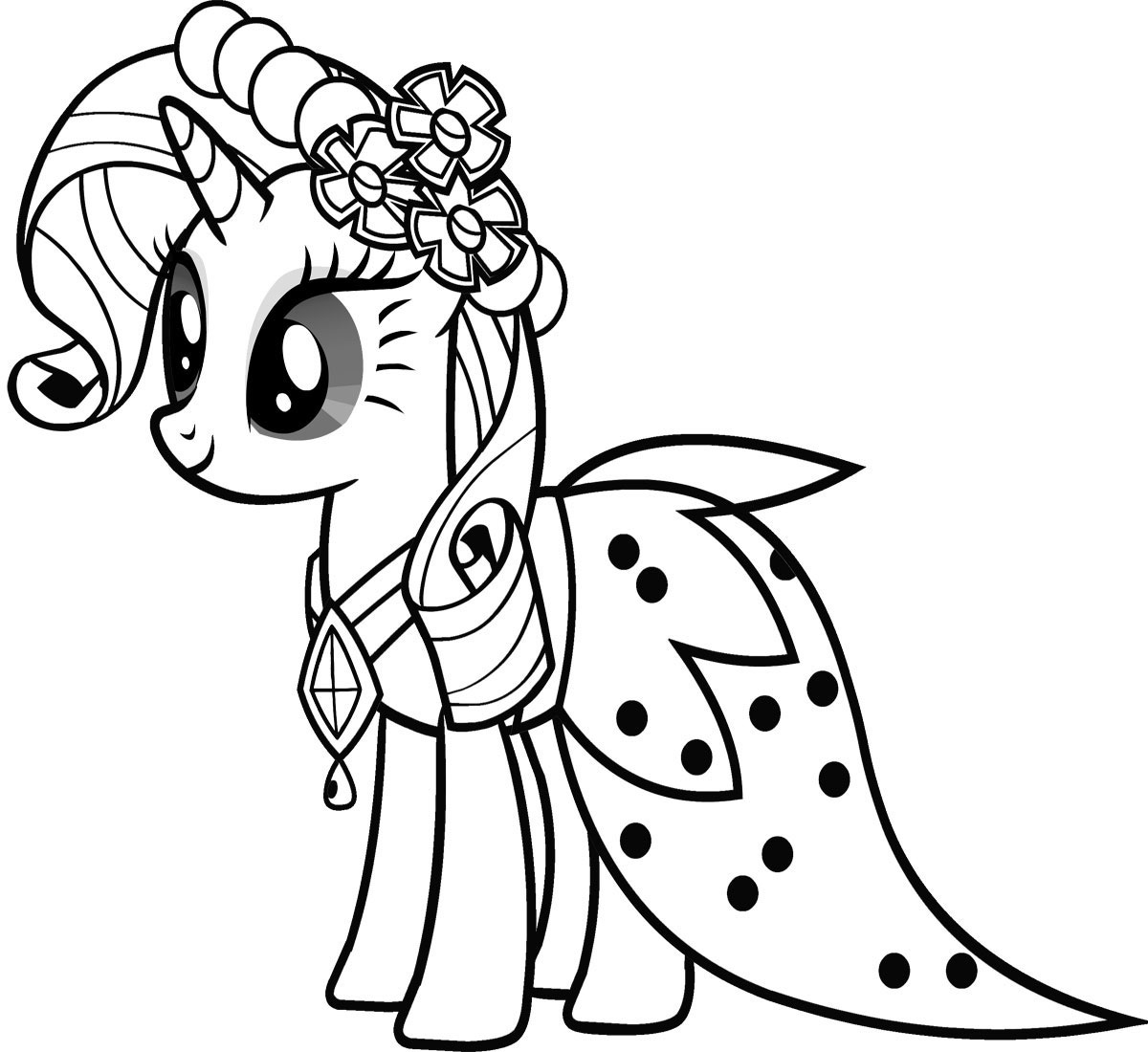 my little pony coloring pages - HD1200×1100