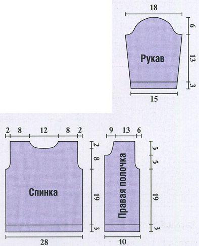 Вязание спицами кофт для мальчиков 6 месяцев