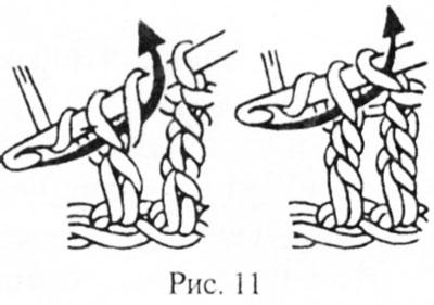 Столбик с двумя накидами