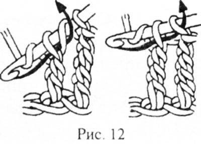 Столбик с тремя и более накидами