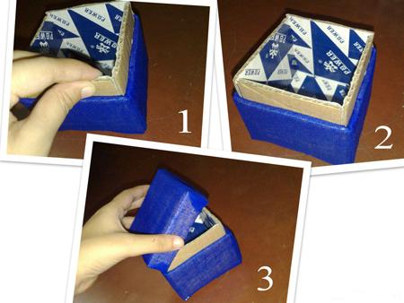 Поделки шкатулки из картона