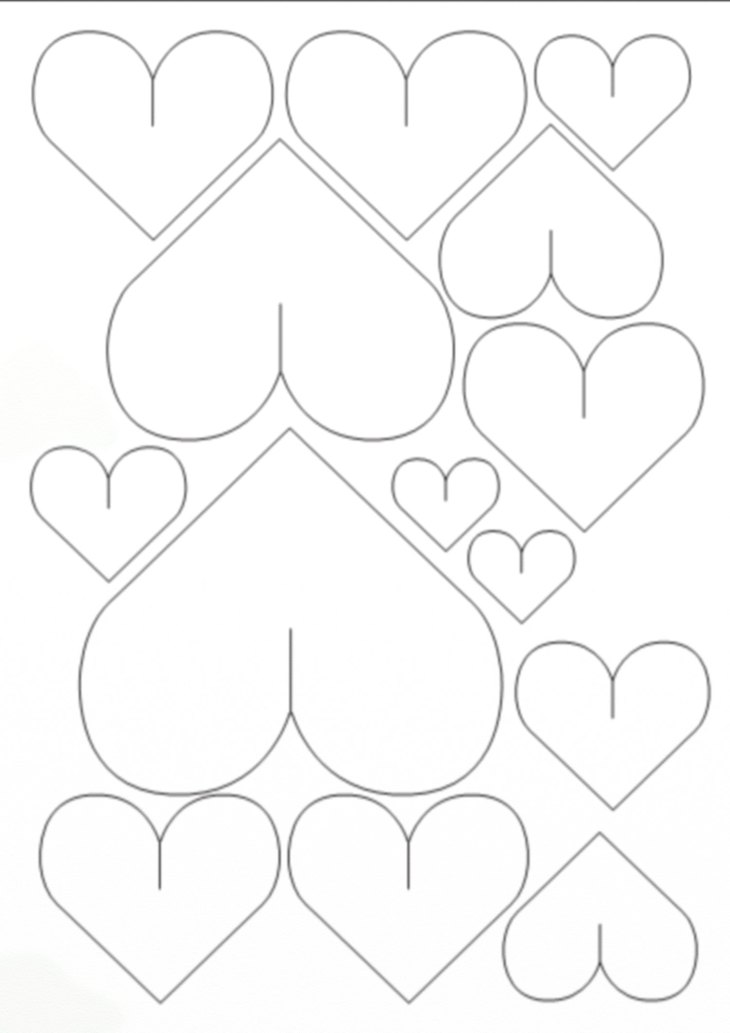 Объемные 3D сердечки из бумаги - 3D-поделки своими руками - мастер ...