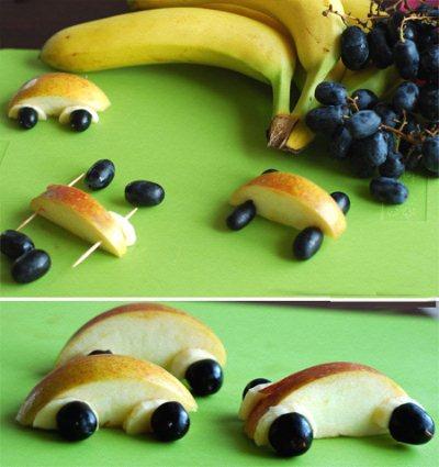 Поделки из фруктов своими руками фото 16