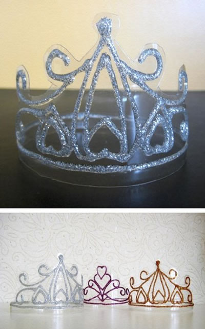 Как самой сделать корону
