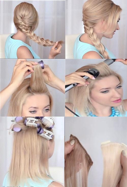 Как сделать причёску эльзы из 619