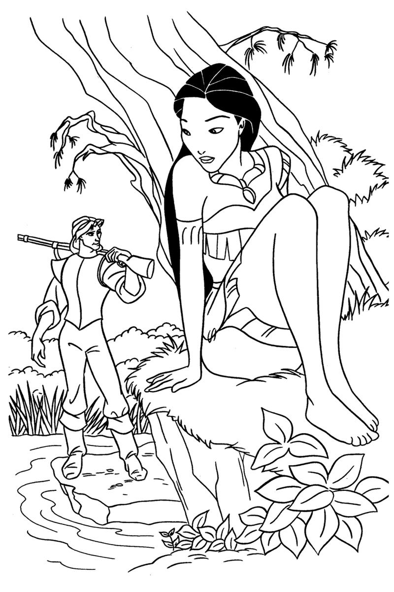 Раскраски для девочек - Принцессы